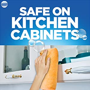 Safe on kitchen cabinets