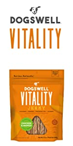 dogswell vitality energy vitamins activity dog all ages breeds sizes chicken beef protein meat