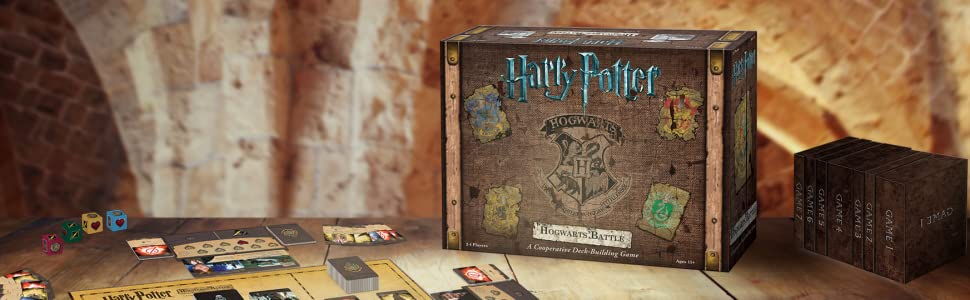 Amazon Com Usaopoly Hogwarts Battle The Monster Box Of Monsters