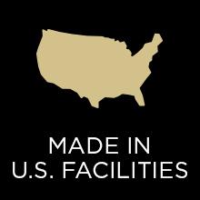 Made in U.S. faciilties
