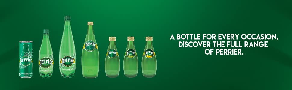 Perrier Sparkling Natural Mineral Water Full Range