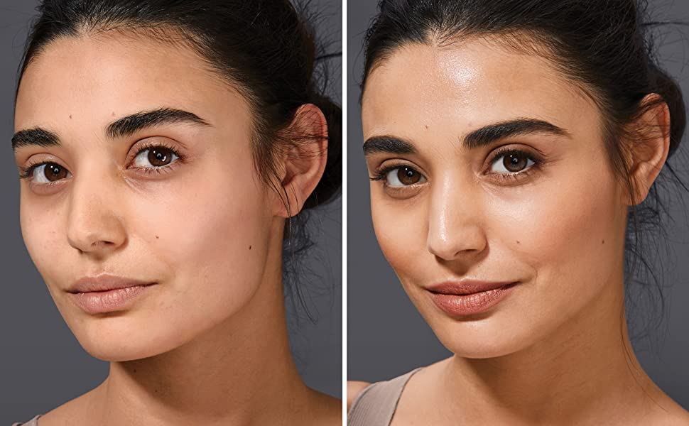 dream radiant liquid hyaluronic acid collagen skincare best foundation dry skin dewy foundation