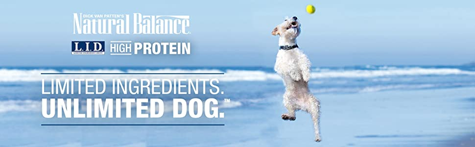 natural balance limited ingredient high protein dog food for active dogs with food sensitivities