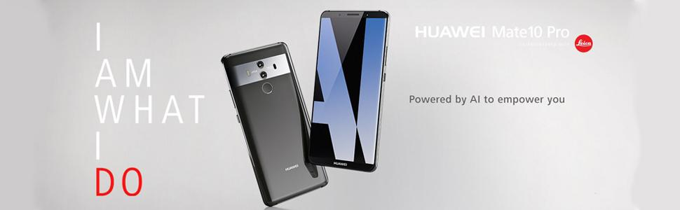 Huawei Mate 10 Pro (Single-SIM) 128GB Android 8 0 UK version SIM-Free  Smartphone -Titanium Grey