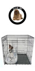 dog, cage, crate, dog bed, puppy, training, ellie-bo, ellie bo, divider, partition