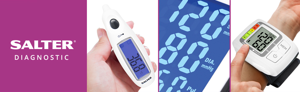 Salter Jumbo Display Digital Ear Thermometer