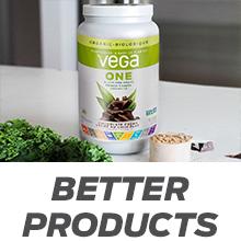 vega one organic meal replacement shake vegan plant based protein powder vanilla chocolate