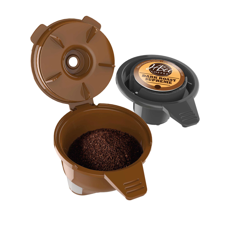 Hamilton Beach FlexBrew Single-Serve Coffee Maker for K ...