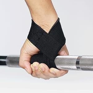 Combo Xtreme grip black + bar pad black + wrist strap