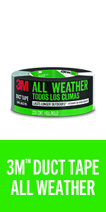 """1260A Industrial /& HVAC 3//Pack Scotch Pro Strength Duct Tape 1.88/"""" x 60 Yd"""