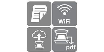 Duplex Wi-Fi Scan-to-Cloud Scan-to-PDF