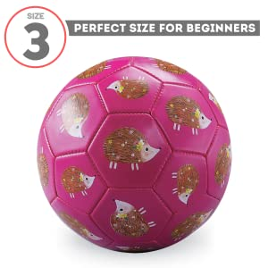 Crocodile Creek, Soccer Balls, Size 3, Kids, Beginner, Chilren, Toddler, Futbol, Art, Design