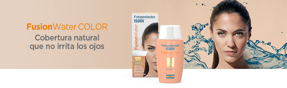 Fotoprotector ISDIN Fusion Water COLOR SPF 50 50 ml, fotoprotector ...