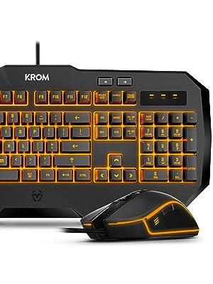 KROM Kodex - NXKROMKODEX - Pro Gaming Dual Kit con Teclado de ...