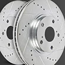 rust resistant rotors, anti-corossion, silver rotors, rust prevention