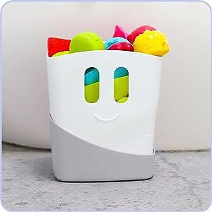 easy to use storage, bathroom organiser
