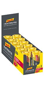 PowerBar 5 Electrolytes, Pestañas 10 lengüetas x 12 tubos ...