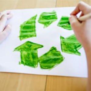Papier Bureau Recyclé