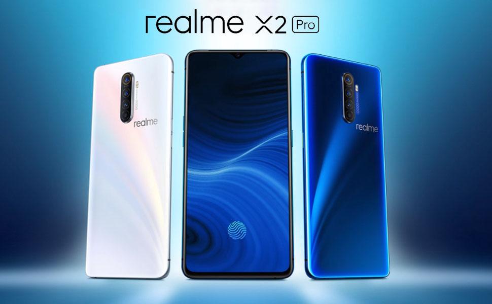 Realme X2 Pro - 8 GB RAM 128 GB ROM Snapdragon 855 Plus-cuádruple cámara 64 MP + 16 MP
