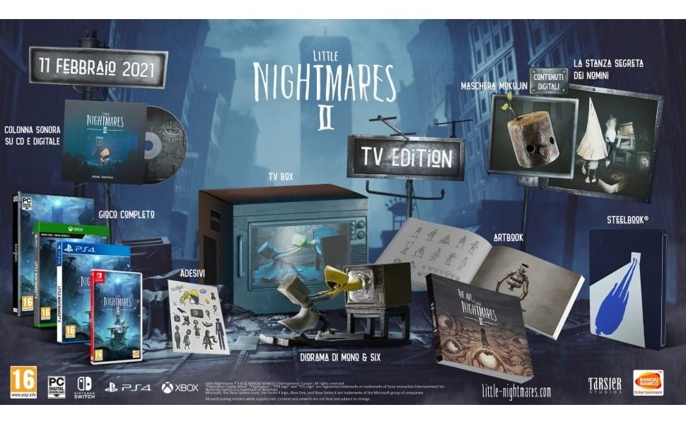 contenuti little nightmares 2 tv edition