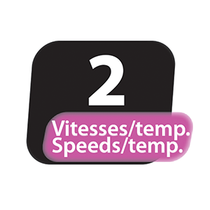 vitesses temperatures