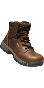 Non slip oil slip resistant non marking rubber outsole heel support medium duty electrical hazard