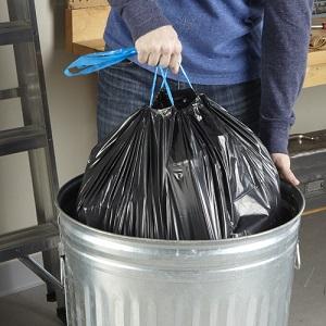 Drawstring Unscented Hefty Strong Large Trash Bags Multipurpose