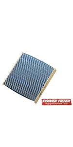 POWER FILTER カーボンキャビンフィルター PM2.5 対応 仕様 CFX-S7 B00ZON97RK