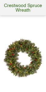 Crestwood Spruce Wreath