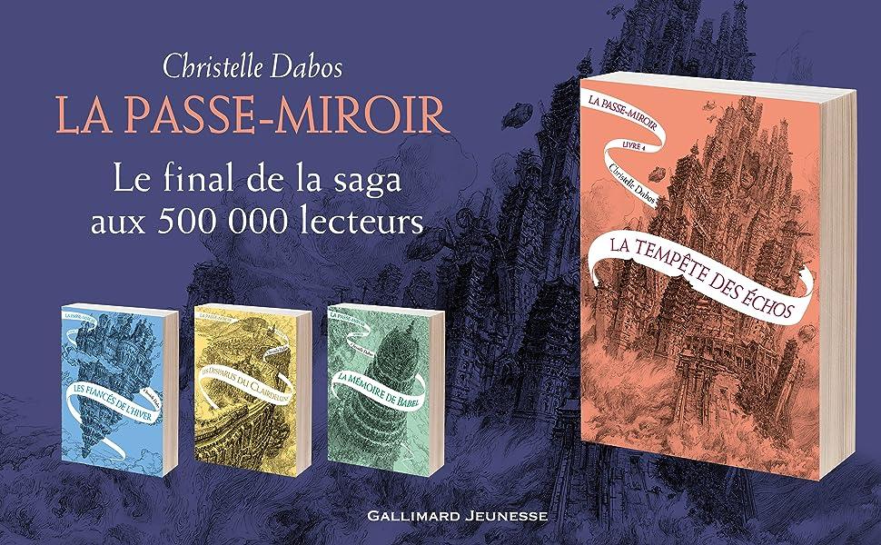 Amazon Fr La Passe Miroir Livre 4 La Tempete Des Echos
