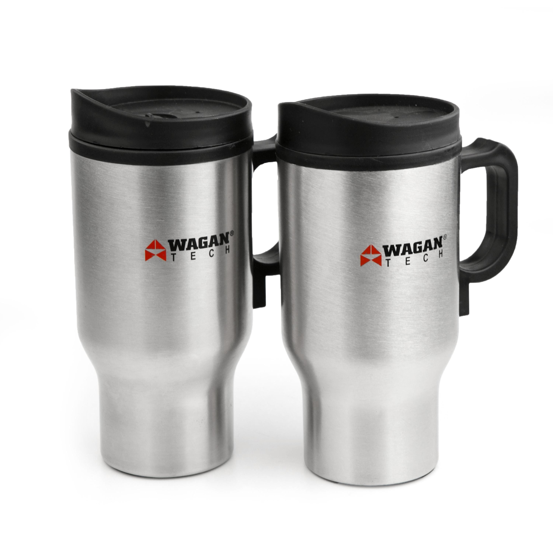 Amazon.com: Wagan EL2227-1 12 Volt Heated Travel Mug - Set