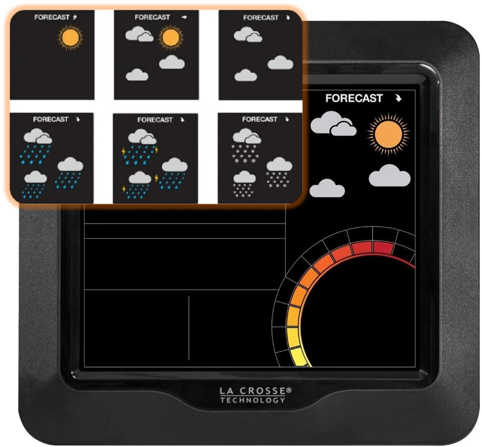 la crosse wireless color forecast station manual