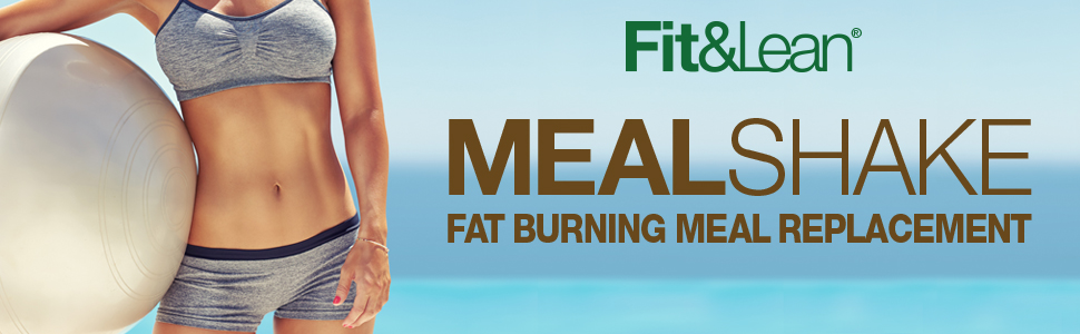 fit and lean fat burning meal replacement shake lose weight loss skinny health in shape