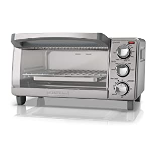 compact toaster oven small space