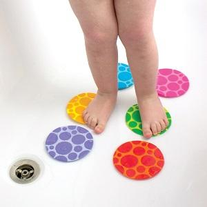 Munchkin Non Slip Grippy Dots Bath Mat Hot Detection