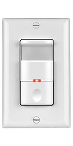 Topgreener Tsos5 White In Wall Pir Motion Sensor Light