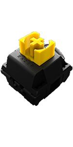 razer れいざー レイザー yellow switch いえろー すいっち イエロー すいっち きいろ じく 黄色 軸