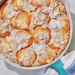 Apricot Almond Clafoutis