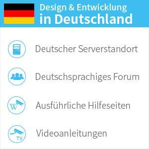 Deutscher Support / Telefonsupport / Design und Entwicklung in Deutschland