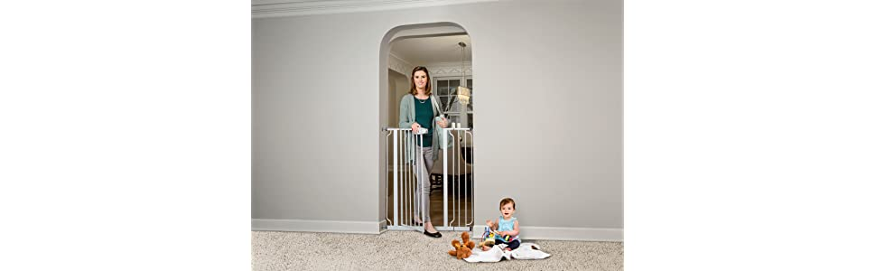 Regalo Baby Easy Step Extra Tall Safety Gate 1 Pack