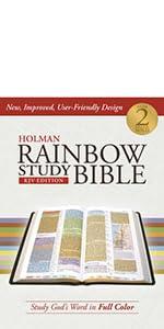 KJV Rainbow Study Bible, Study Bible, KJV Speicalty Bible, ESV Rainbow Study Bible
