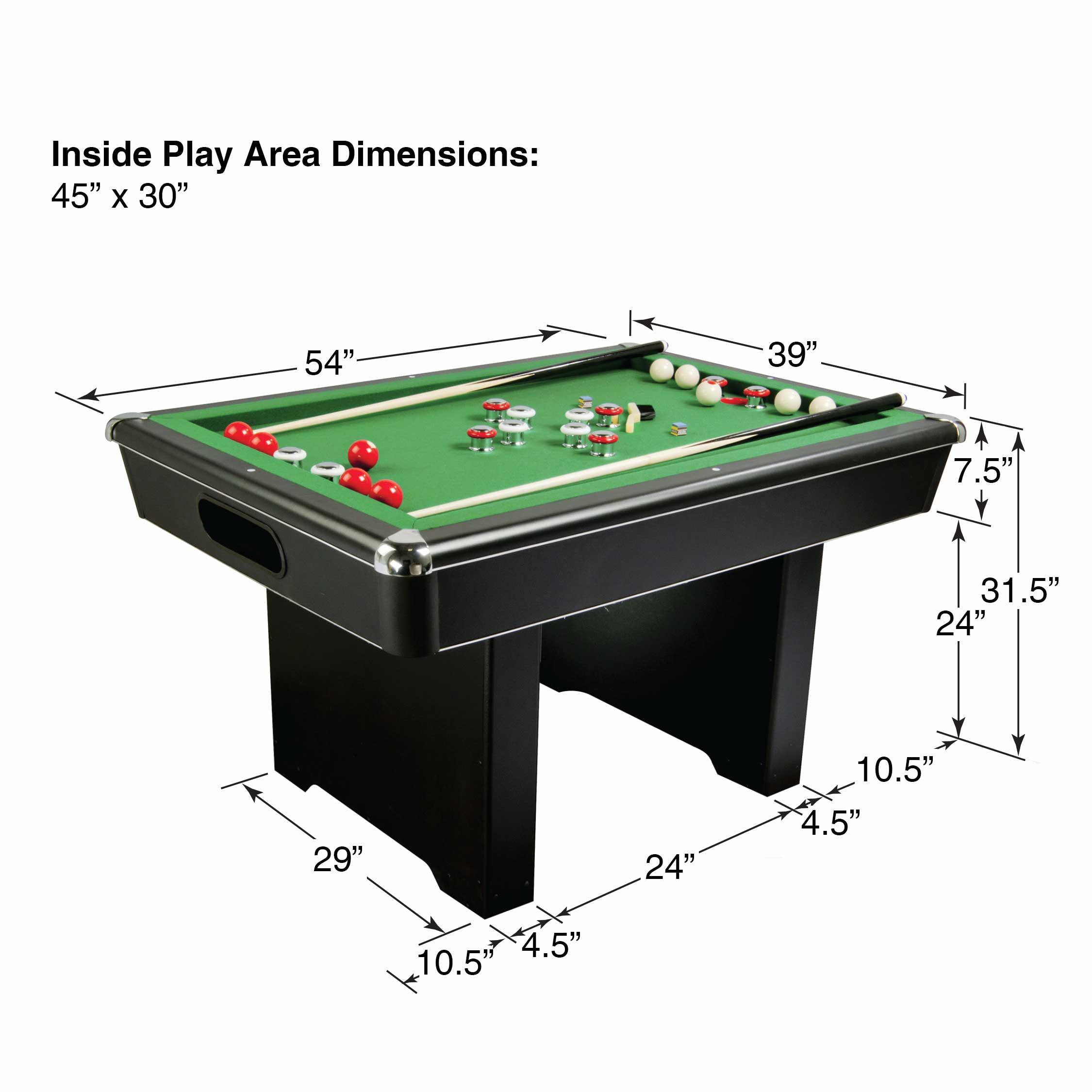 trans avon buy return ball foot online pool jarrah table green