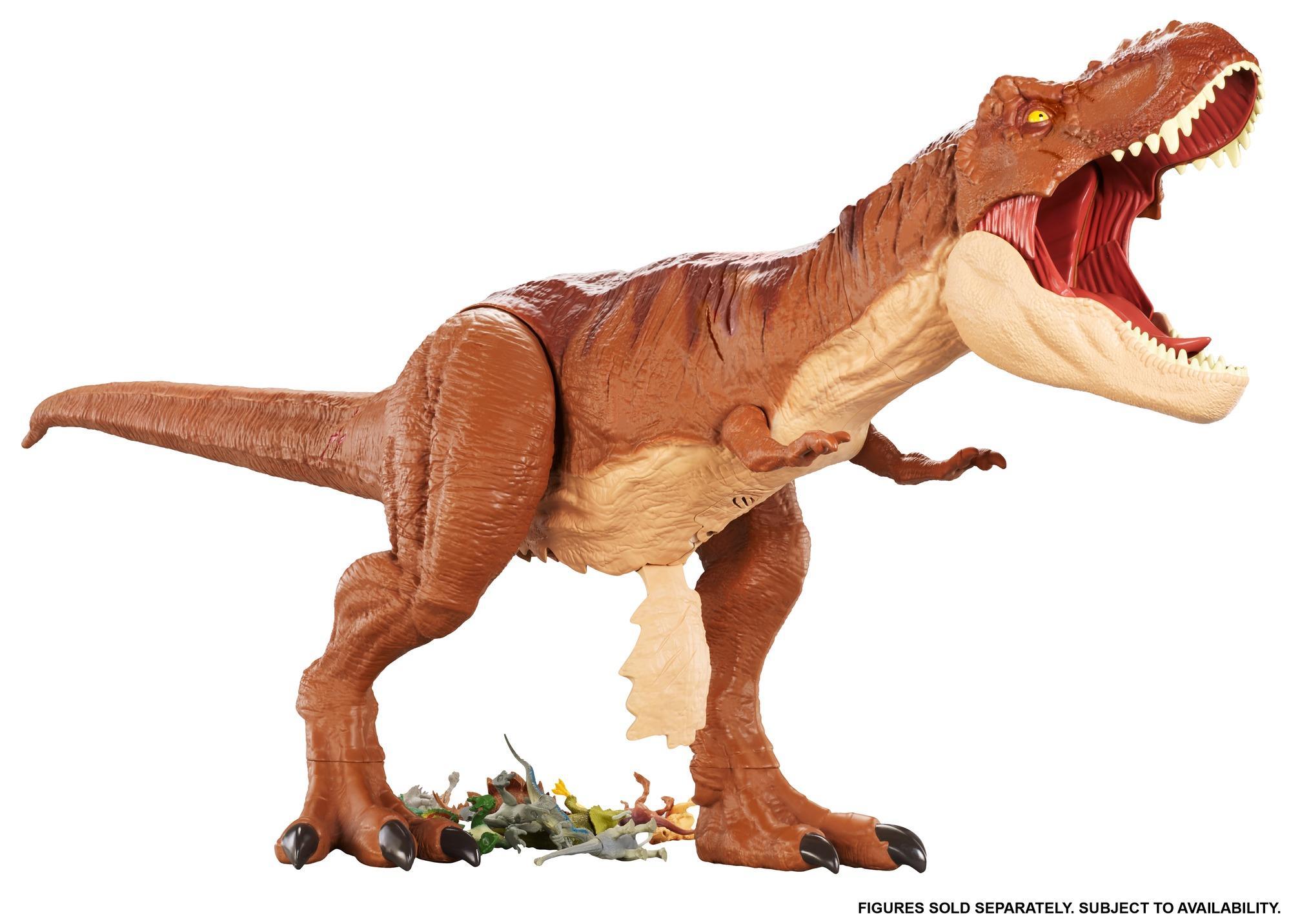 Super Colossal Tyrannosaurus Rex Jurassic World 2 Fallen Kingdom Mattel RARE NIB