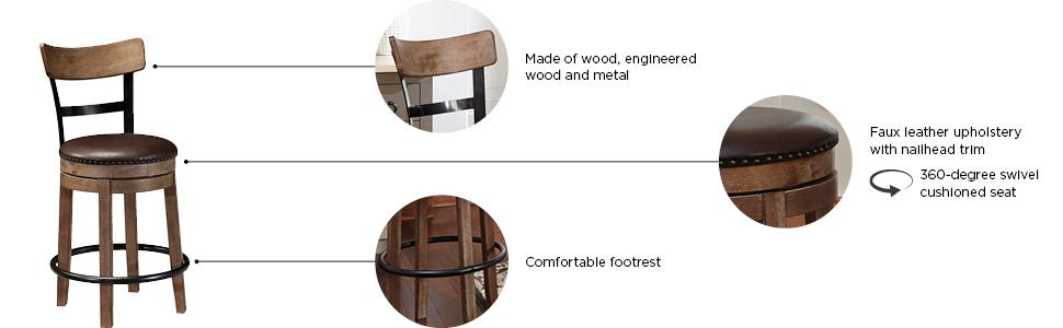 pinnadel barstool ashley furniture