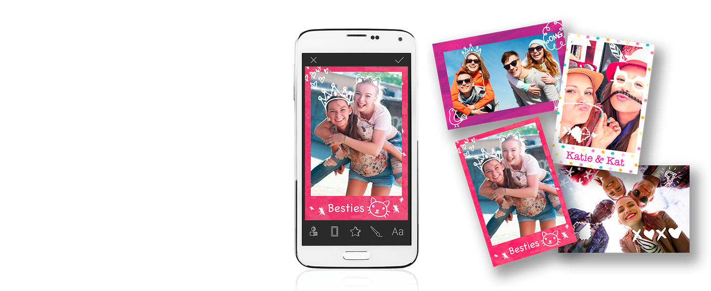 2-in-1 camera instantly instant photos