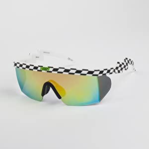 c6456067bd24 Amazon.com: Neff Brodie Wrap Around Sport Sunglasses: Clothing