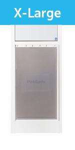 x-large petsafe freedom patio panel pet door
