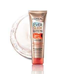 Ever, sulfate free, keratin, loreal, shampoo, conditioner