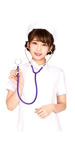 聴診器 パープル