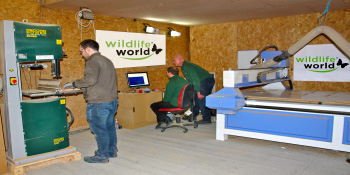 Designing and testing at our Cotswolds workshops
